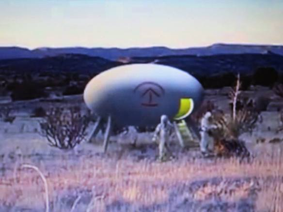 Socorro NM UFO Report