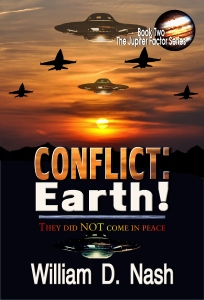 Conflict: Earth! Cover