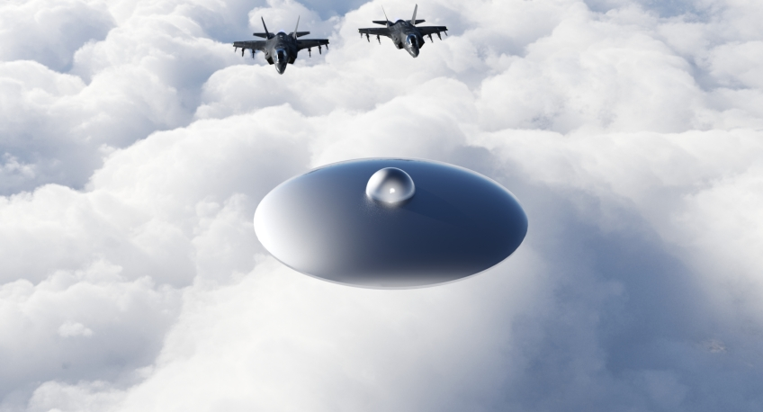 US Air Force UFO Chase