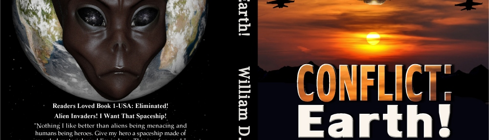 Conflict: Earth! Book Cover