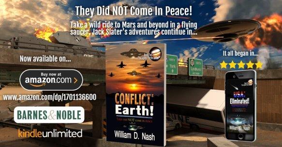 2nd Book of The Jupiter Factor Trilogy